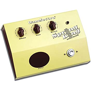 Danelectro Spring King Dsr 1 Reverb Effects Unit Amazon