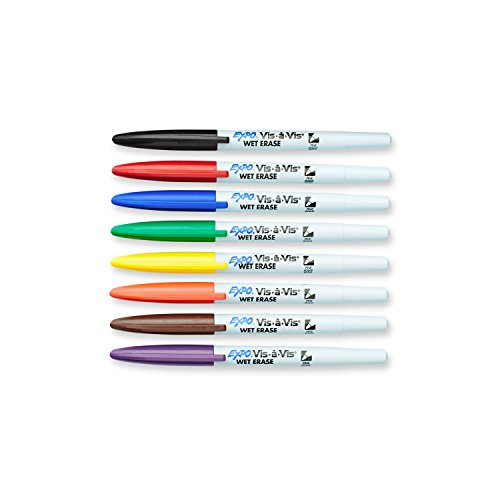 vis-a-vis-wet-erase-marker-fine-point-assorted-8-set-sold-as-1-set