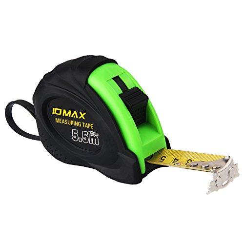 Preisvergleich Produktbild ID Max Maßband starker Magnetischer Widerstand Stahl Tape Pocket Tape 5m/16ft grün