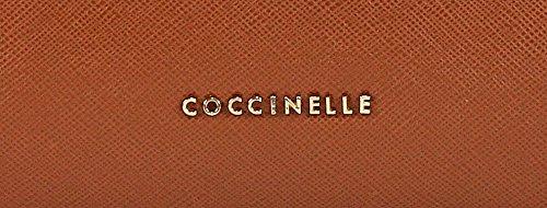 Coccinelle Daria sac fourre-tout cuir 33 cm Cuoio (Marron)