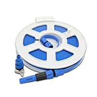 Roll On 20M Super Flat Water Hose Food Grade Reel Caravan Motorhome Boat