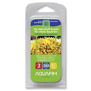 Aquafim M-12 Strontium Dosier-Würfel bis 200 L Meerwasser Aquarien. Aktive Zeit 2 Monate