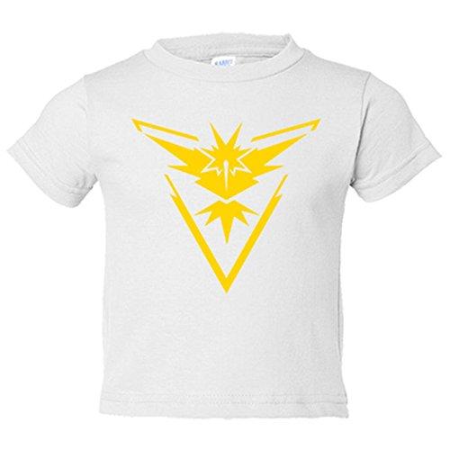 Camiseta-nio-Pokemon-Go-equipo-Instinto-Instinct-amarillo