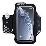 Mpow Brazalete Movil 5.8 Pulgadas para Correr,Brazalete Deportivo contra Sudor con Soporte para Llaves, Cables y Tarjetas para iPhone XS/X/8/7/6 /6s Samsung, Huawei, Bq x5, HTC, LG, etc