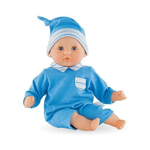 Corolle FFP30 - Calin Mon Premier, Puppe, 30 cm, blau (Corolle Baby Puppe)