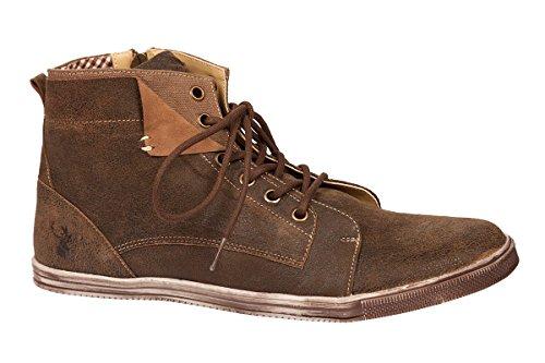 Trachten Herren Sneaker - JÖRG - ruß, Größe 48