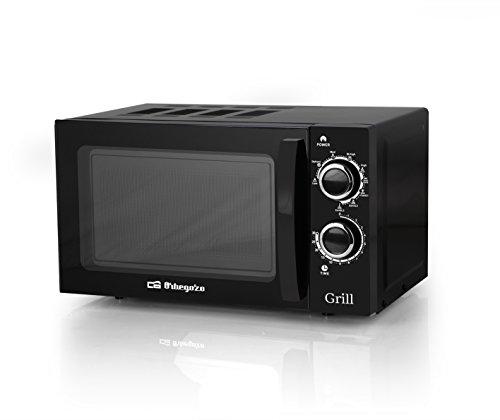 Orbegozo MIG 2031 - Microondas con grill 700 W, 20 L, 9 niveles de funcionamento, color negro