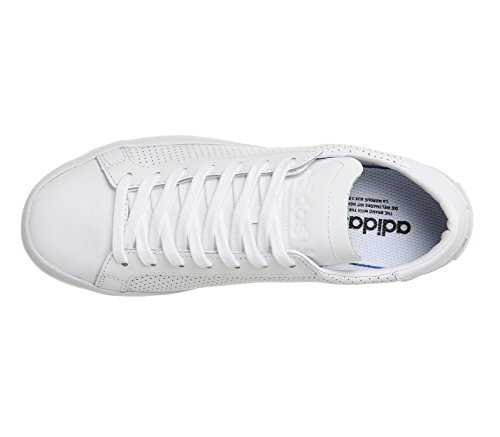 adidas Unisex-Erwachsene Courtvantage Sneaker Weiß (Footwear White/Footwear White/Footwear White)