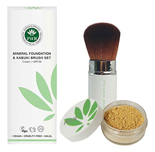biokompatibel-mineral-farbe-foundation-und-kabuki-brush-set-fair-beige
