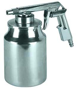 Einhell Strahlpistole mit Saugbecher passend für Kompressoren (Arbeitsdruck 3-8 bar, Inhalt Saugbecher 1 l)