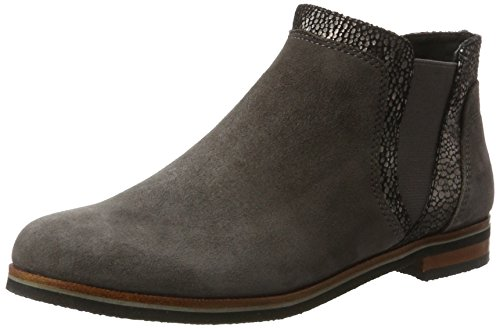 Caprice Damen 25304 Chelsea Boots Grau (anth.SUE.Multi)