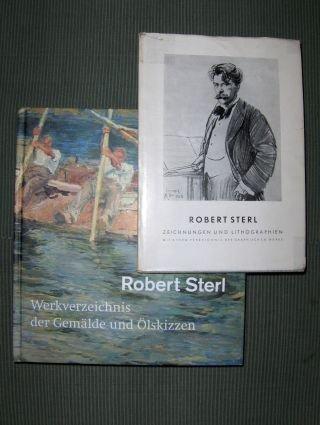 2 TITELN - ROBERT STERL (1867-1932) - 1) WERKVERZEICHNIS DER GEMÄLDE UND ÖLSKIZZEN // 2) ALS...