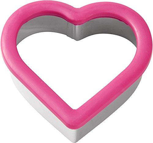 Wilton Ausstechform Herz mit Komfort-Griff (Wilton Griff Ausstechformen)