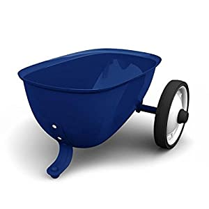 Baghera- Remolque para Rider, Color Azul (824)