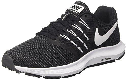 Nike Wmns Run Swift, Zapatillas de Trail Running para Mujer, Negro (Black/White/Dark Grey 001), 40 EU