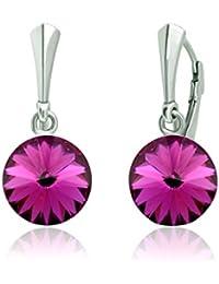 553e8824a1de Bonitos pendientes «Rivoli» de Crystals Stones. Pendientes para mujer de 12  mm