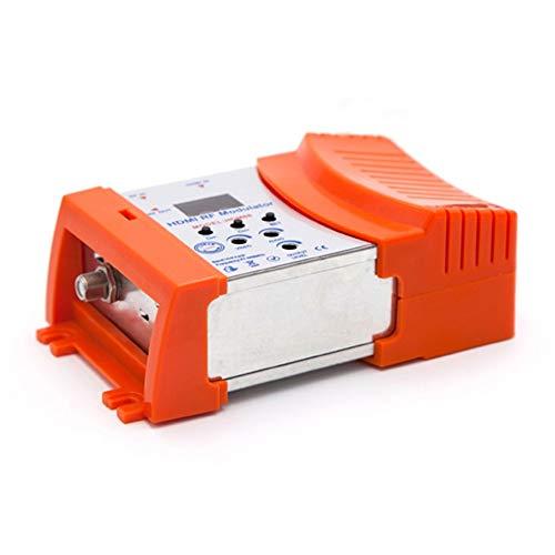 HermosaUKnight Modulatore Digital RF HDMI Modulatore VHF Frequenza UHF Pal/NTSC Standard 230V Arancio
