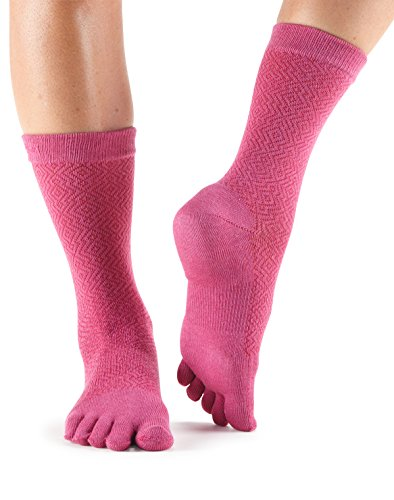Toesox Crew Ruby Size : 36-38.5 -