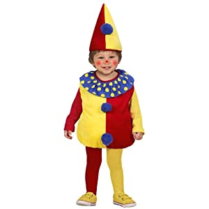 WIDMANN - Costume da pagliaccio, 1-3 anni, 90-104 cm 23 spesavip