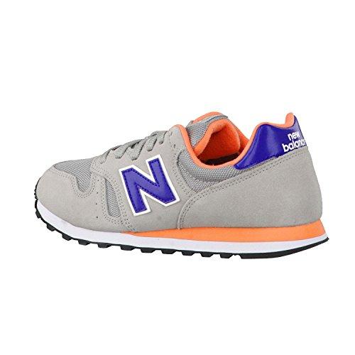 New Balance 487651 50, Baskets Basses Femme Gris/Violet