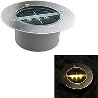 Gosear-LED Solar Lámpara con luz blanco cálido para decorar el jardin y el cesped
