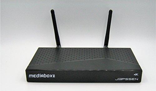 Jepssen mediabox 4k m-7 plus computer android decoder satellite e terrestre netflix 4k