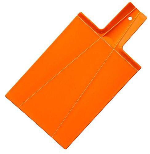 Prodotti josko 1621 pieghevole tagliere, in plastica, colore arancione, 39,5 x 21,5 x 2 cm