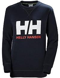 Helly Hansen HH Logo Crew Sudadera Deportiva, Mujer