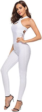 Zegeey Women's One Piece Sport Yoga Jumpsuit Running Fitness Workout Gym Tight P
