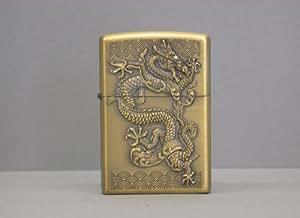 Briquet zippo briquet motif dragon chinois #2