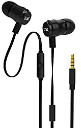 Boat BassHeads 235 in-Ear Extra Bass Earphones with Mic (Charcoal Black)