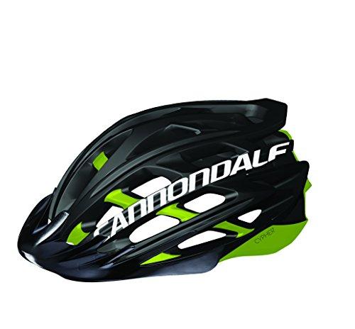 Cannondale Cypher MTB Fahrrad Helm schwarz/grün 2017: Größe: L/XL (58-62cm)
