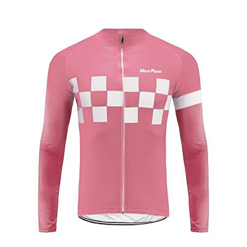 0528b0d04 Uglyfrog Bike Wear Ciclismo Maillots Conjunto para Hombre Primavera/Otoño  Respirable Montar Bici Moto,
