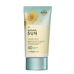 The FACE Shop Natural Sun Eco Sebum Control Moisture Sun SPF40 PA+++ 50ml