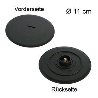 Messerverschluss für Ritter Allesschneider AES 251 VZ / E25 / E 251 Z aus Kunststoff Ø 11 cm / Multischneider / Ersatzteil