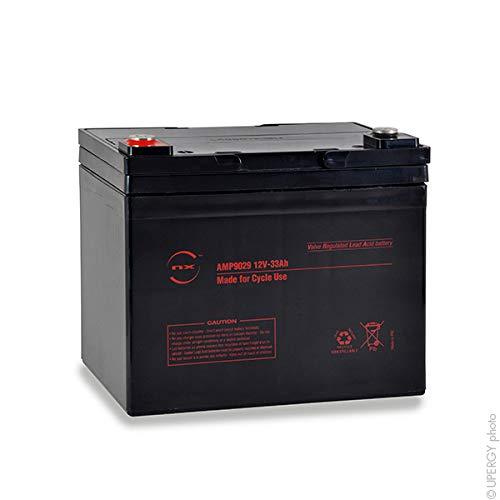 NX - Batteria AGM Uso Ciclico 12V 33Ah M6-F