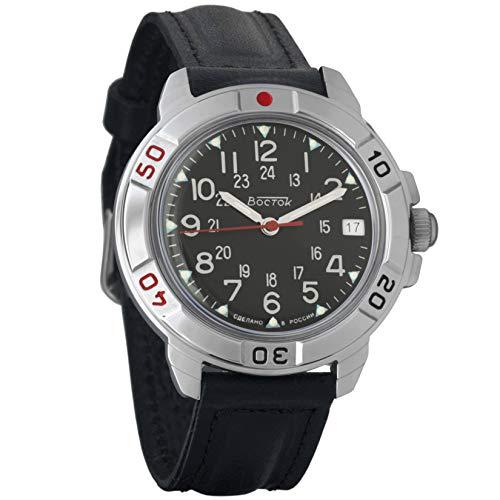 Vostok/Wostok Komandirskie 2414 431783 Russisches Militär Mechanische Uhr