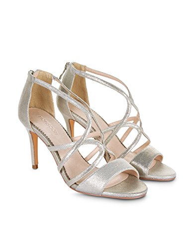 Monsoon Whitney Riemchensandalen Silber