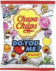 Chupa Chups Assorted Lollipops 10 Units Packet, 120g