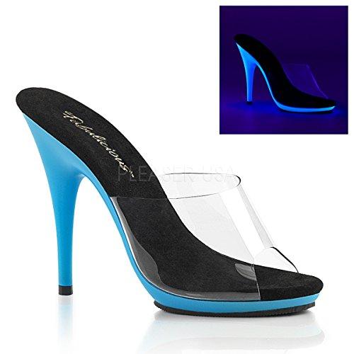 Fabulicious POISE-501UV Clr/Neon Blue