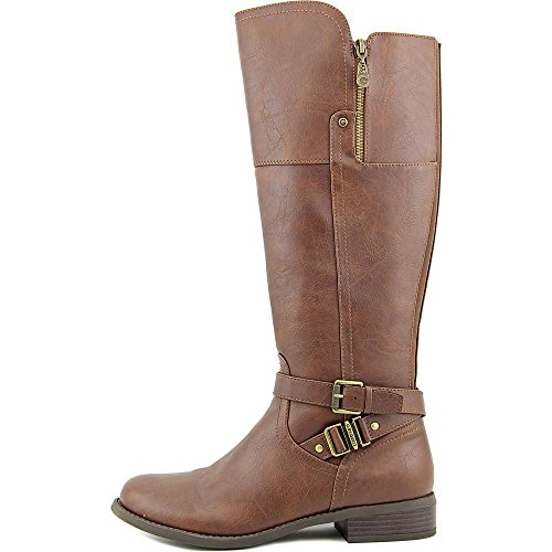 G By Guess Heylo Wide Calf Synthétique Botte Dark Brown