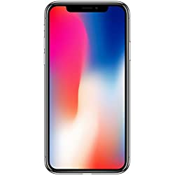 Apple iPhone X - Smartphone con pantalla de 14,7 cm (64 GB, Gris espacial)