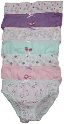 Infantil Paquete De 7 Girls Braguitas