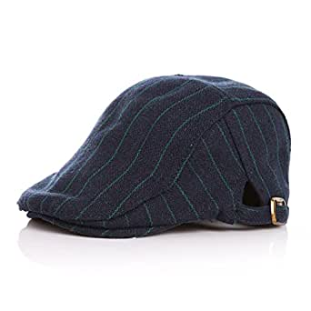 Anshili Bambino Coppola Berretto Cappello Gatsby (Blu)  Amazon.it ... 2ab421d6d177