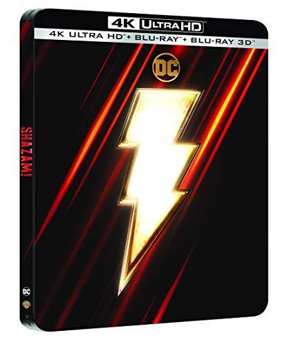 Shazam! [4K Ultra HD + Blu-ray 3D + Blu-ray - Édition Limitée SteelBook]
