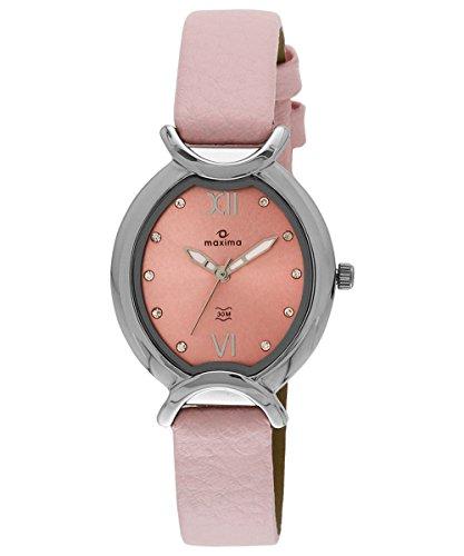 Maxima Attivo Analog Pink Dial Women's Watch - 24682LMLI image