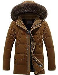 Hyvaluable Giacche e Cappotti Cappotti Nuovi Plus Size Piumini Invernali  Uomo Medio Lungo Addensare Collo in 2e999b8c0e0