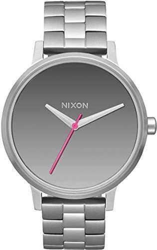 Nixon Damen Digital Quarz Uhr mit Edelstahl Armband A099-2633-00