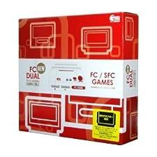 NEW FC DUAL (new FC dual) .Famicon(NES) and super Famicom(SNES) compatible machine