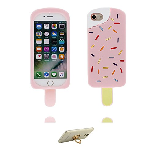iPhone 7 Custodia, TPU [ Bottle ] Cover Shell Semplice Progettato per iPhone 7 Copertura (4.7 pollici), iPhone 7 Case - e ring supporto [ Juice Bottle ] COLOR 2